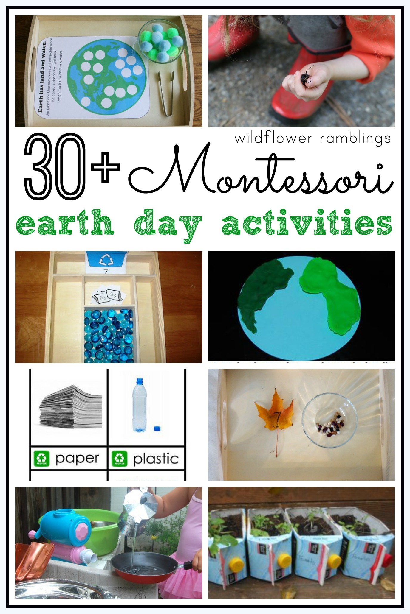 Montessori Earth Day Activities