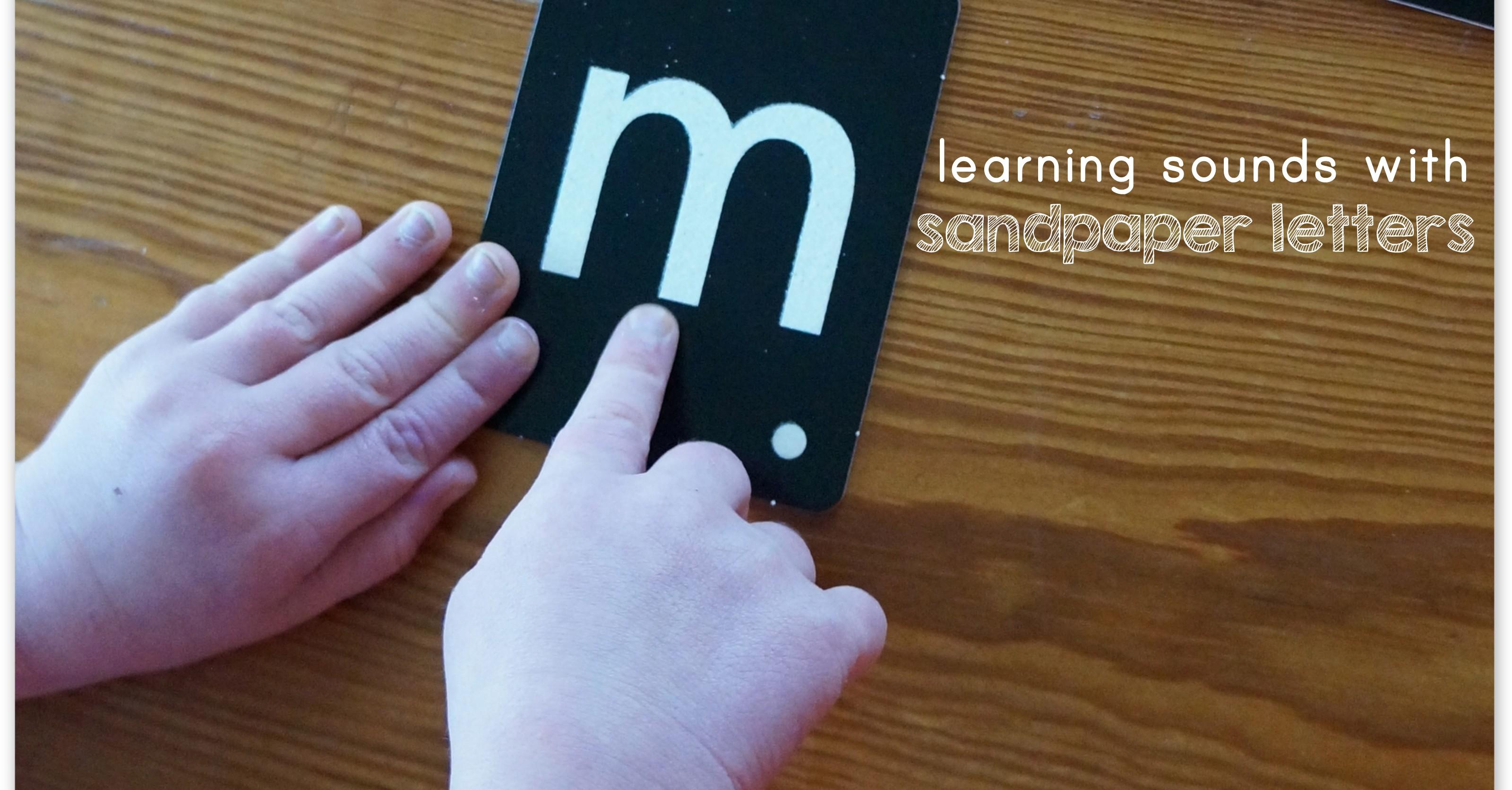Montessori Three Period Lesson Teaching Letter Sounds