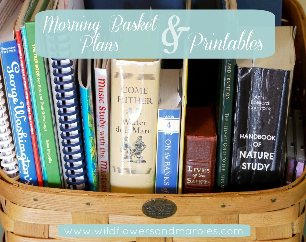 The Morning Basket Plans & Printables - 2015