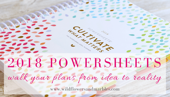 Powersheets Goal Planner – Walk Your Plans from Idea to Reality