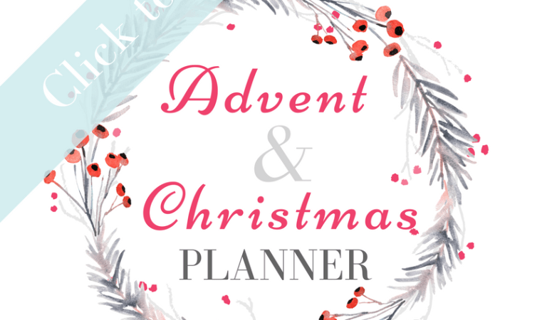 Advent Planner 2017 | 2018