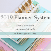 2019 Planner Lineup - Tools That Leverage My Day