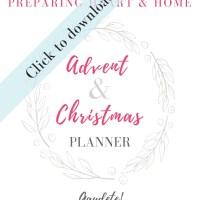 Advent Planner 2019/2020
