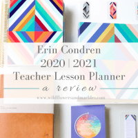 Erin Condren Teacher Planner - 2020|2021 Review