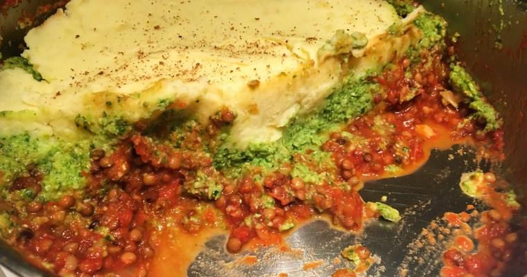 Groene Shepherd's pie