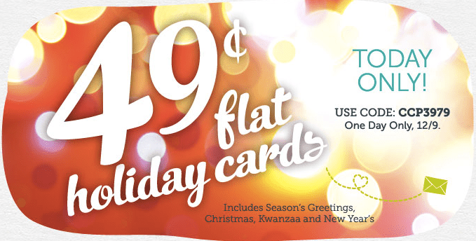 Cardstore 049 Holiday Cards TODAY ONLY