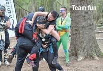 team fun