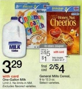 General Mills Cereal Deal