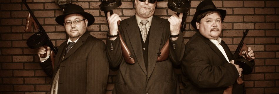 Gangster Photo Shoot at Wild Gals Old Time Photo Studio