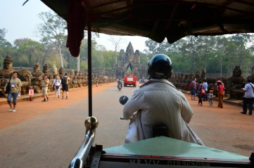 Our awesome tuk tuk driver for a day!
