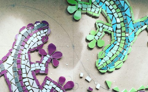 Wild Geckos Mosaic