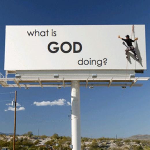 Image result for god is doing