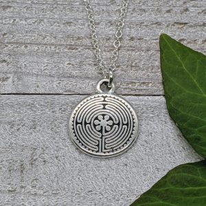 chartres labyrinth necklace