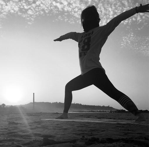 Yoga am Strand - Yoga Seestadt