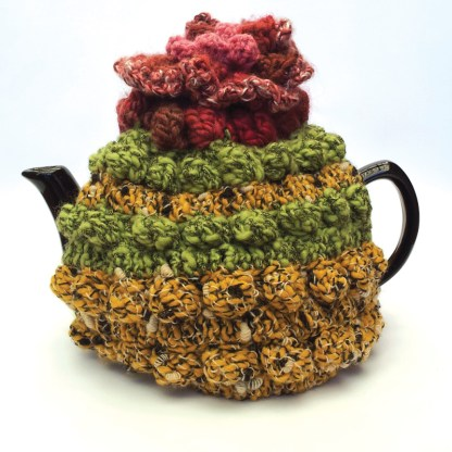 Hand made tea cosy.