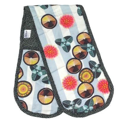 Australian designer oven glove.