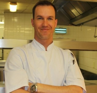 The Elephant Camp's new Head Chef, Dean Jones