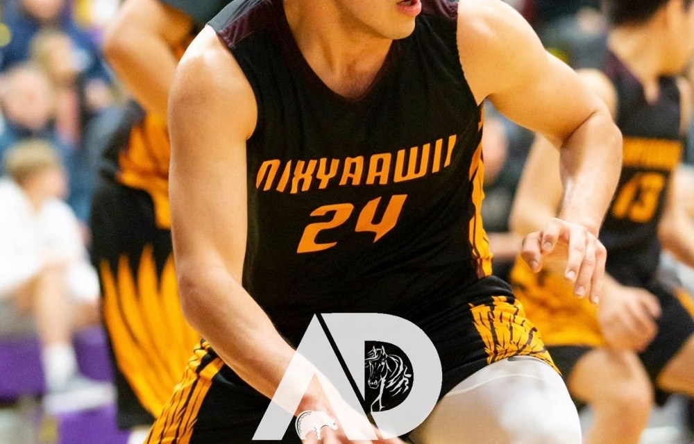 Nixyaawii Golden Eagles finish 3rd in the 2020 1A Boys Basketball State Championship
