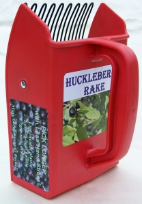 Huckleberry rake with wire tines