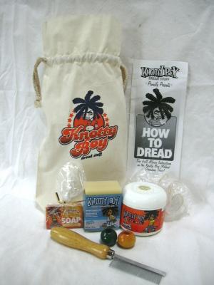 Knotty Boy Dreadlock All In One Complete Dread Kit