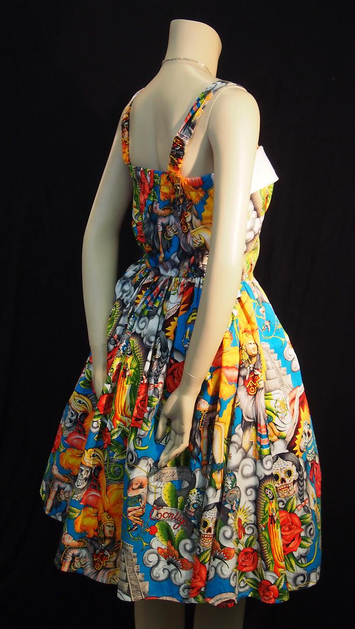 Rockabilly Maya Sky Rockabilly Dress