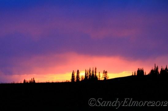 Sunset, July 31, 2012