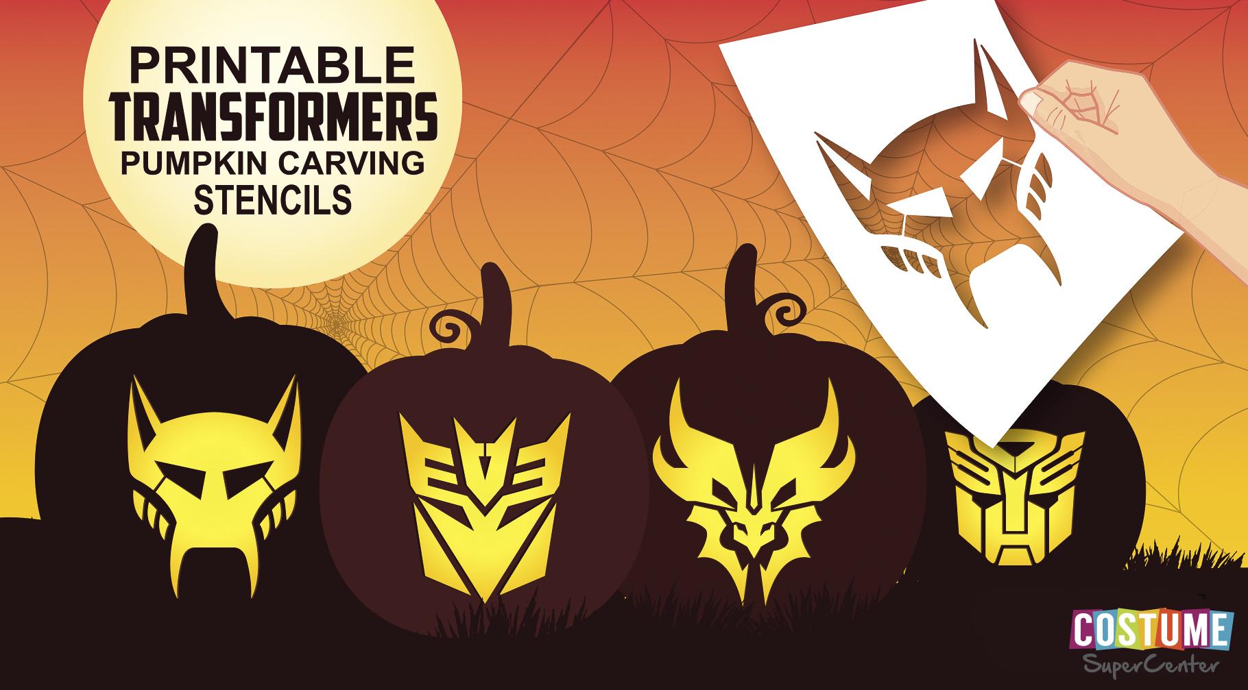 Free Printable Pumpkin Carving Stencils