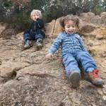 Un pequeño alto en el camino para jugar en la ruta del faro del Albir