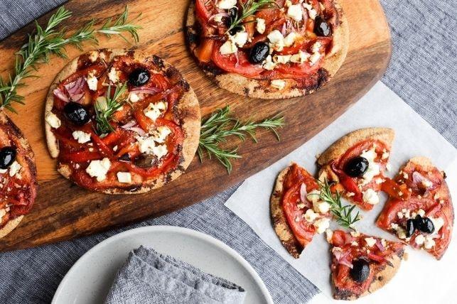 7 day recipe challenge: Pitta Pizzas