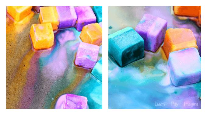 Fizzing Ice Chalk