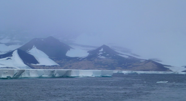 Cape Crozier and the start of The Ross Ice Shelf