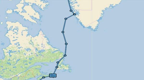 Halifax to Greenland