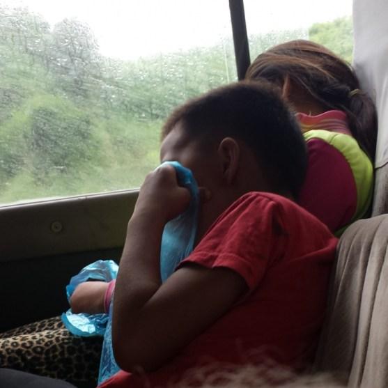 Lao Bus Ride