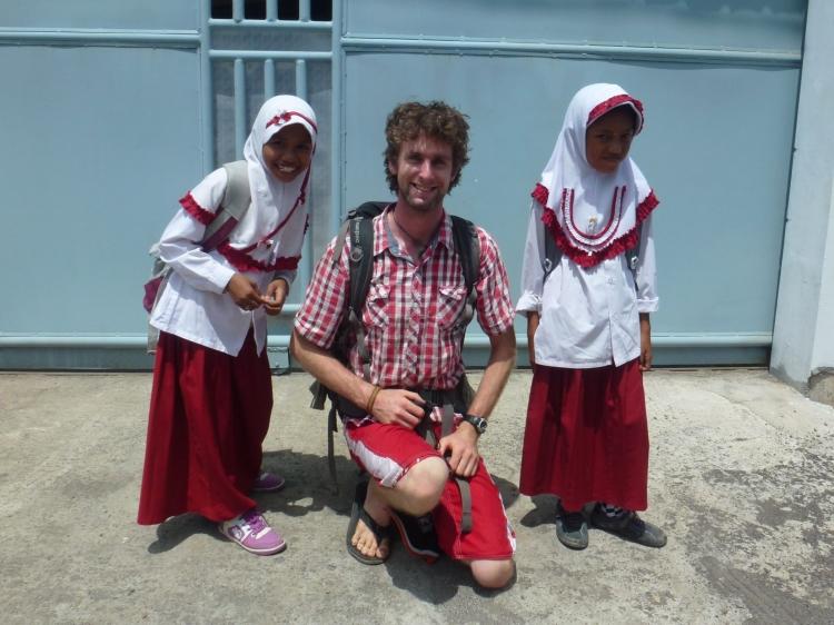 School Girls in Bima, Indonesia