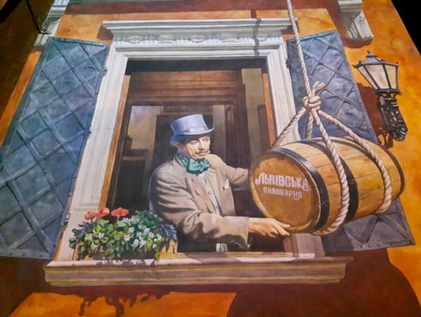 Lviv Street Beer Art