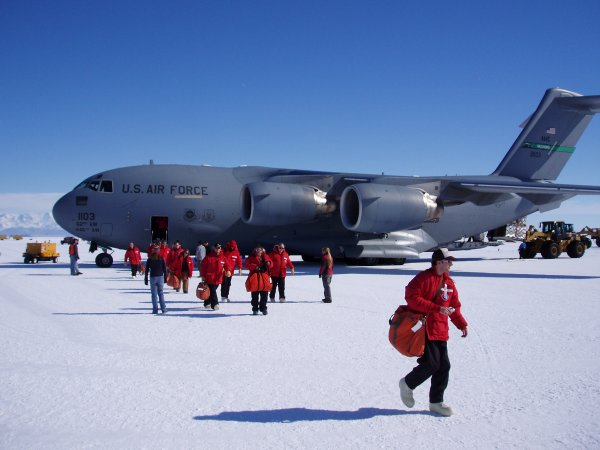 Work in Antarctica