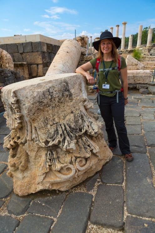 "Beit Shean, Scythopolis or ""They call me Hi-Hat."""