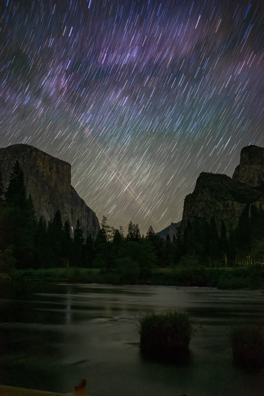 Valley View is one of the great spots for pictures in Yosemite Valley.