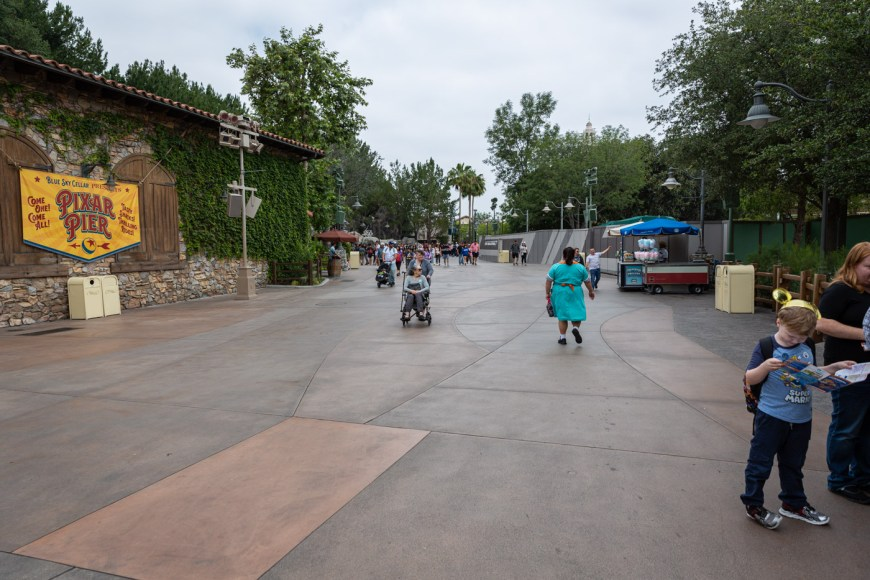 The Promenade near Blue Sky Cellar at California Adventure, Disneyland
