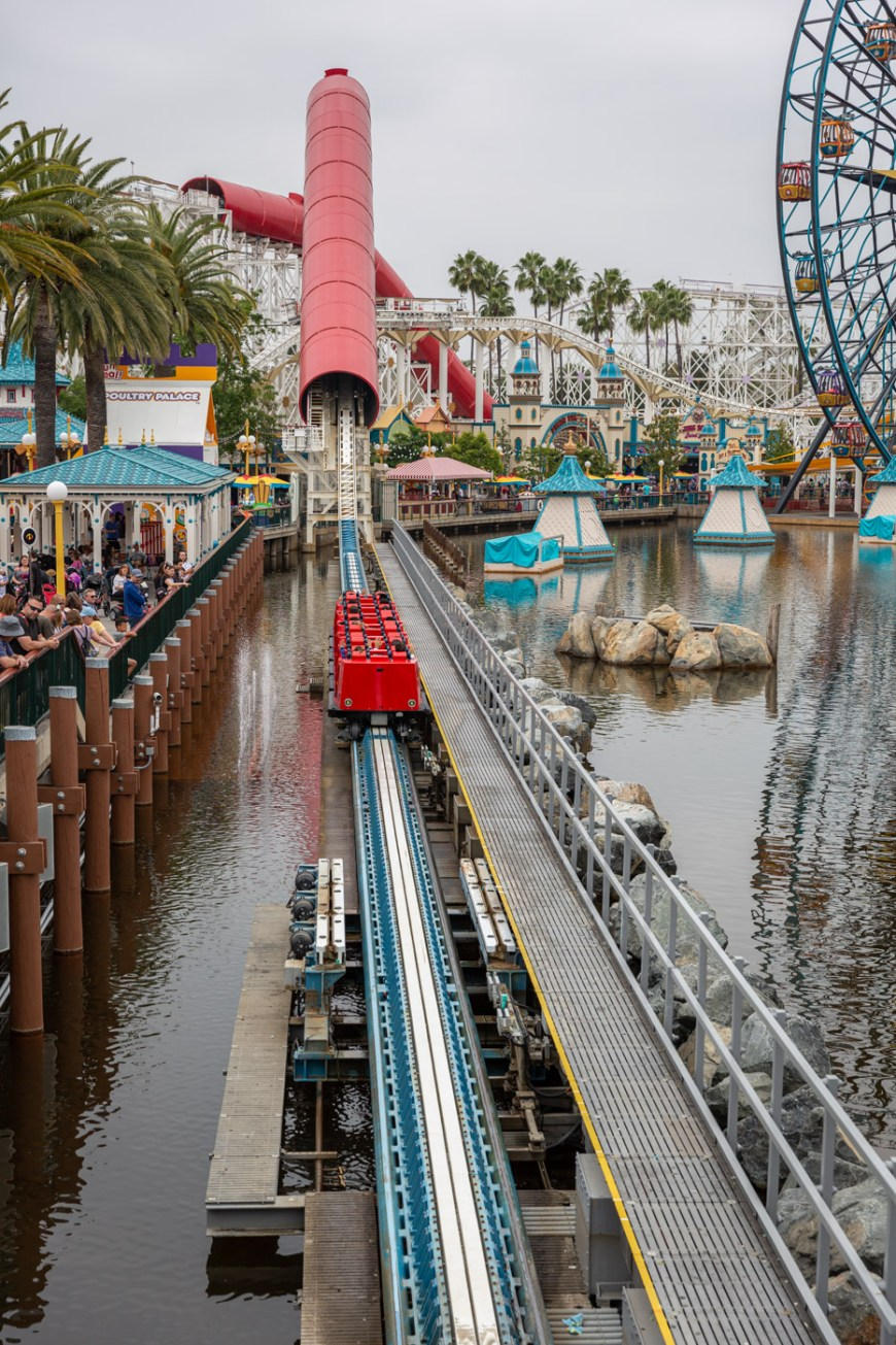 Incredicoaster, Pixar Pier, Disney's California Adventure.