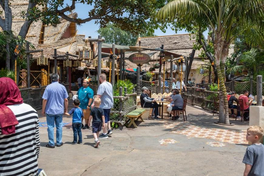 Tropical Hideaway, Disneyland