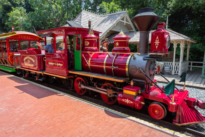 The Disneyland Railroad, New Orleans Square, Disneyland