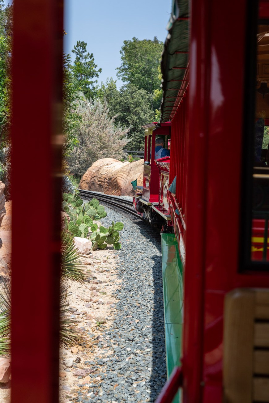 The Disneyland Railroad, Adventureland, Disneyland