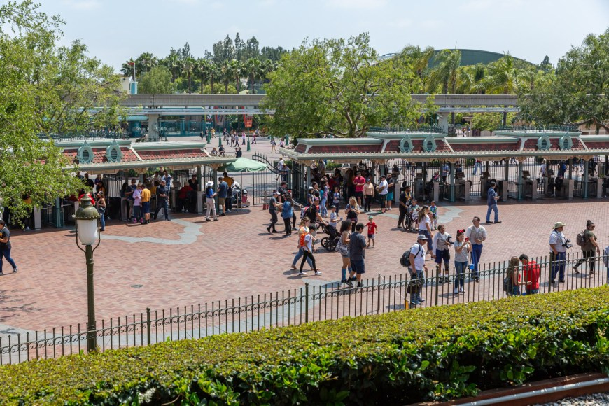 The Disneyland Railroad, Main Street, Disneyland