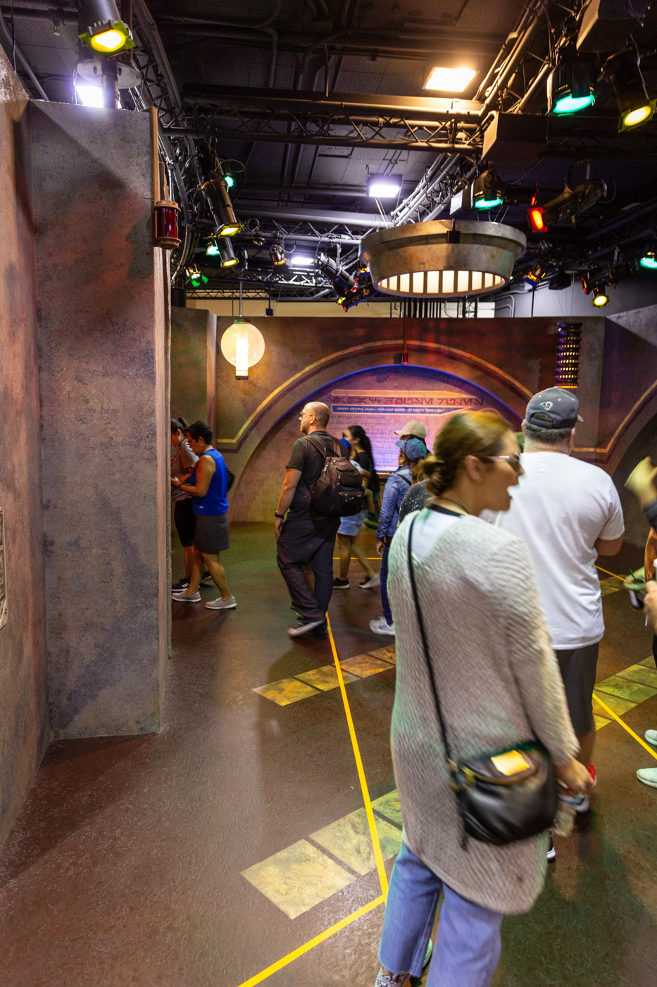 Star Wars Launch Bay Galaxy's Edge Check In