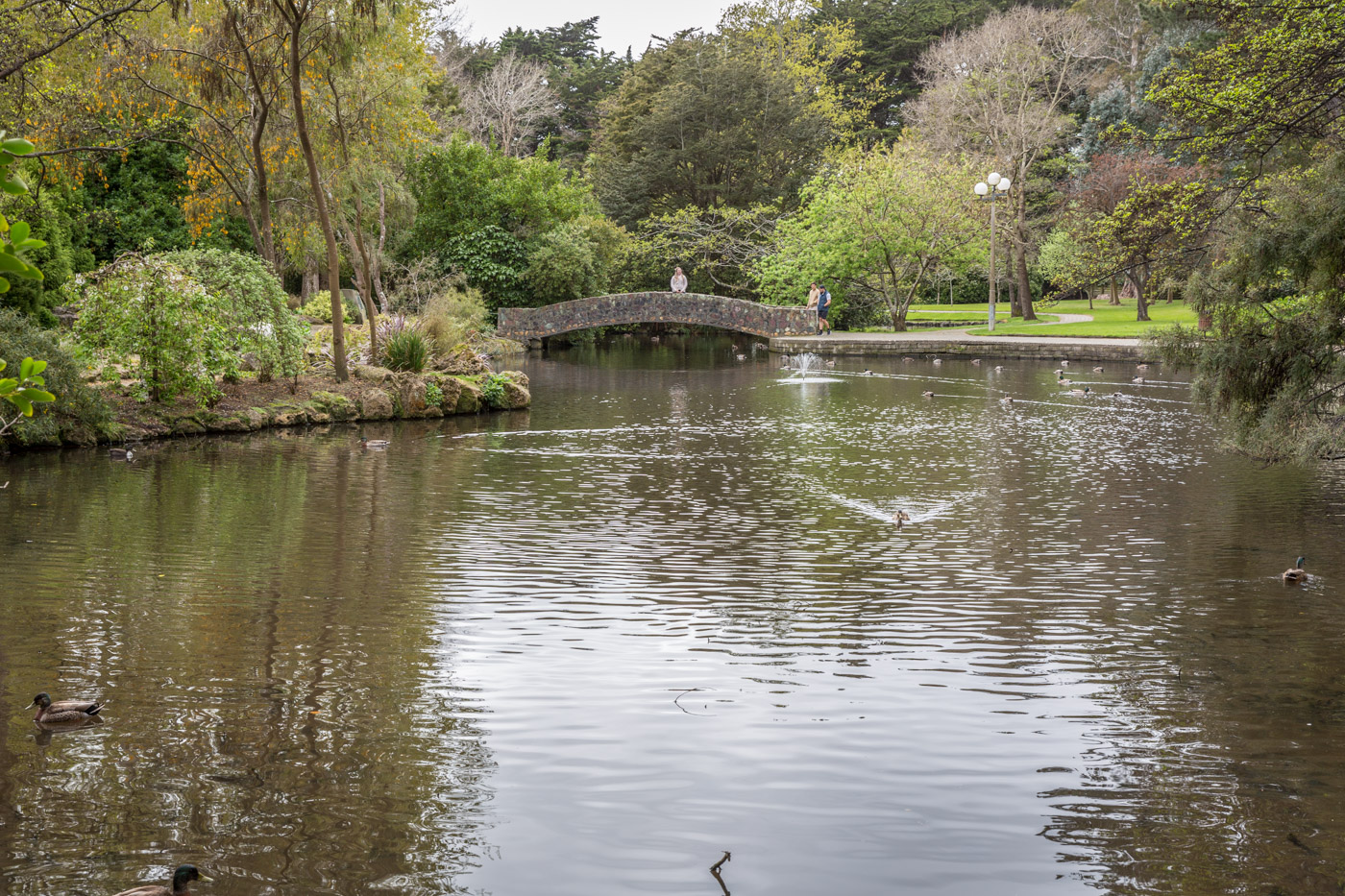 The Queen's Park, Invercargill, South Island, New Zealand