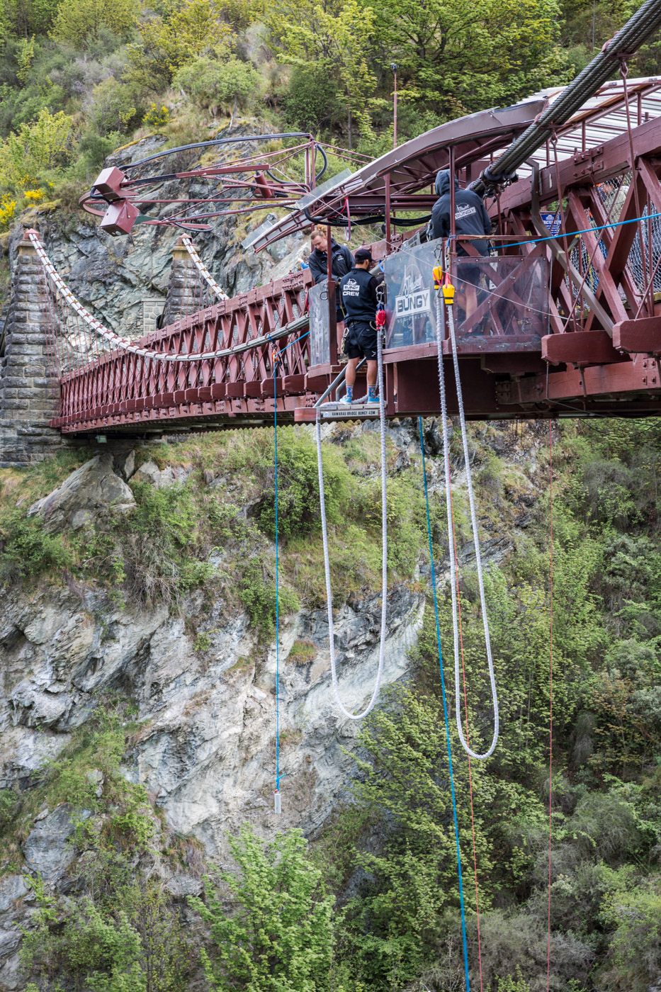 Bungee Jumping Queenstown, South Island, New Zealand