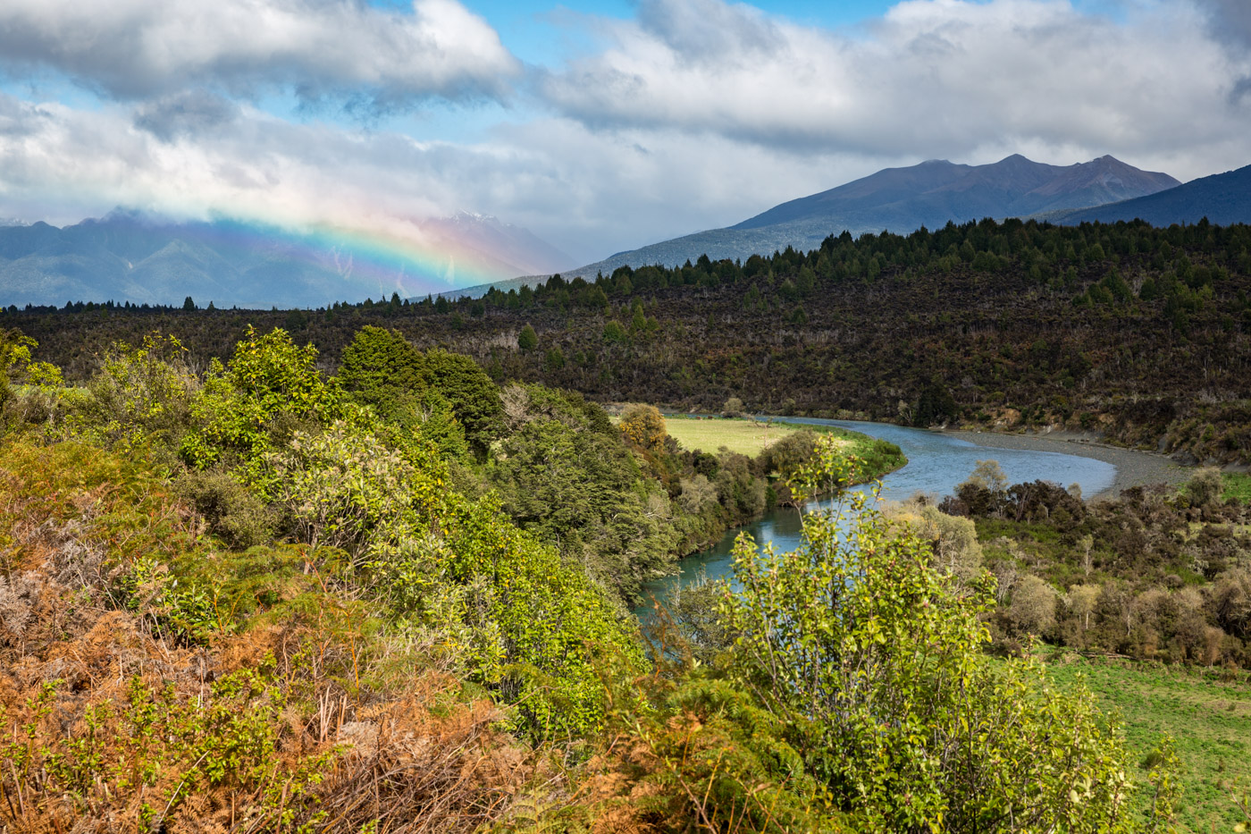 On the road from Te Anau to Milford Sound, South Island, New Zealand