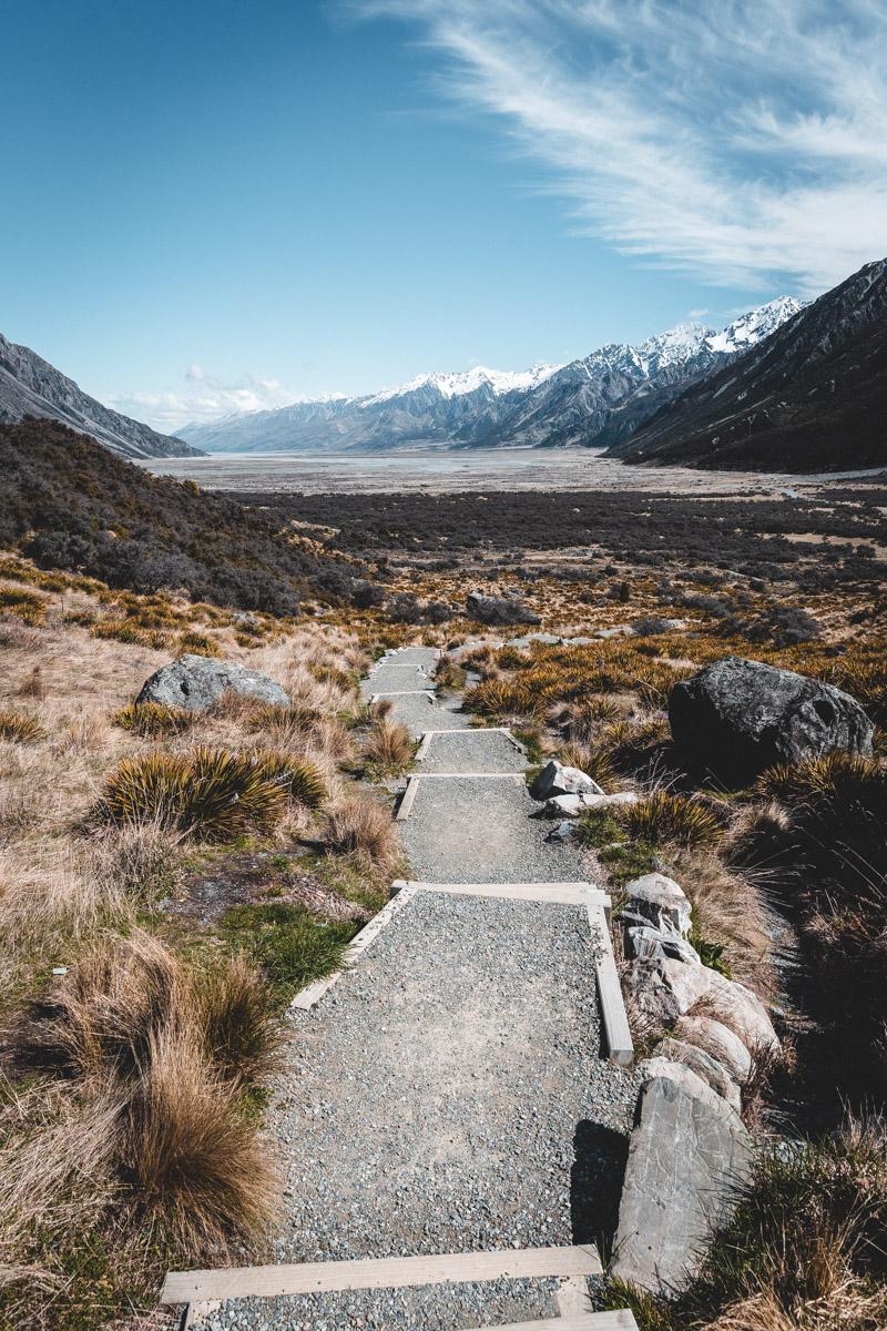 Tasman Glacier Mount Cook, South Island, New Zealand