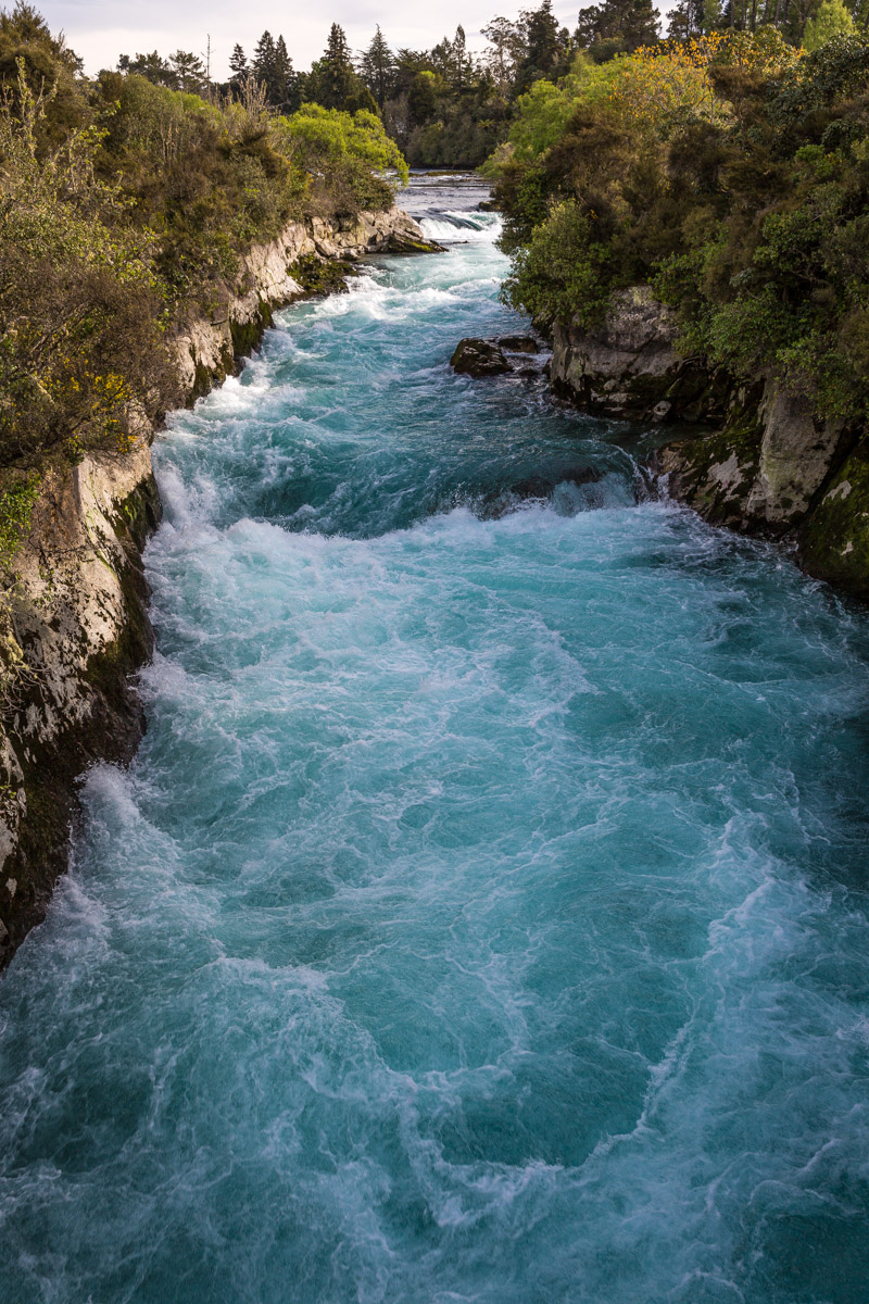 Huka Falls, Lake Taupo, North Island, New Zealand